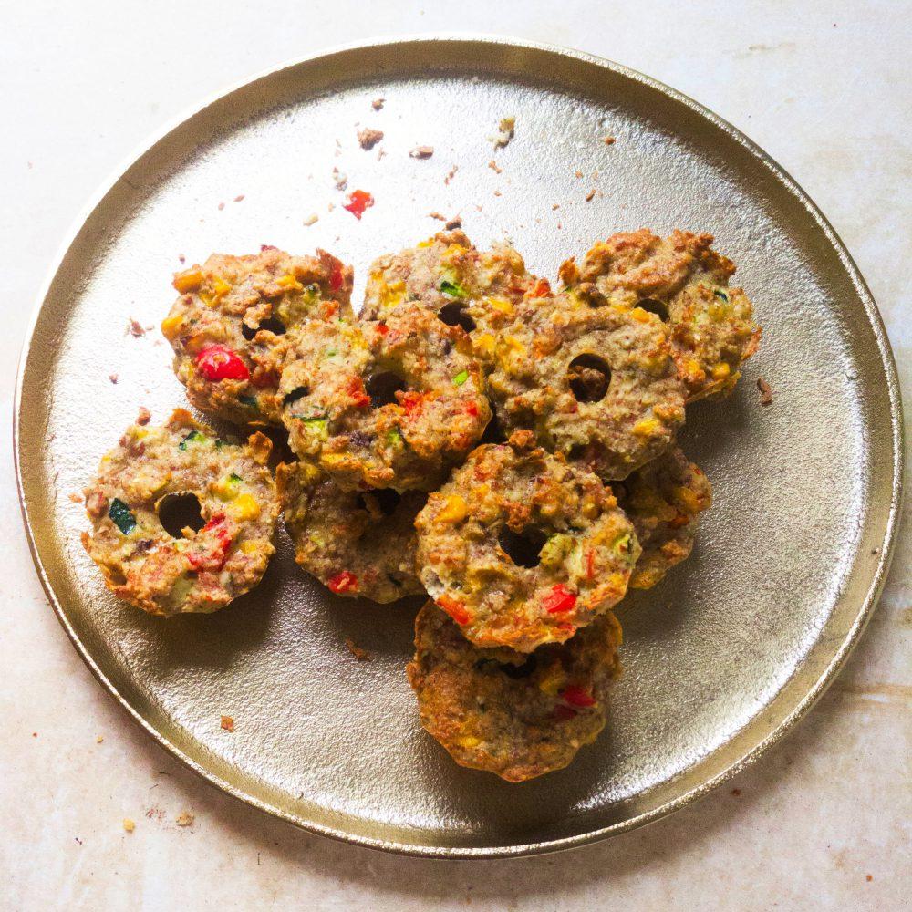 Glutenfreie Gemüsemuffins - leckerer Snack aus Gemüse